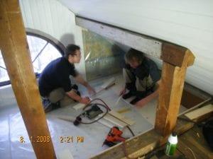 rehabilitering av loft 2