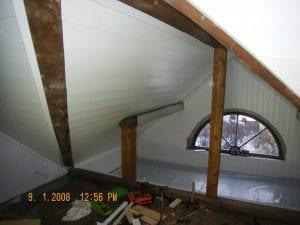 rehabilitering av loft